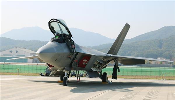 エアショー、韓国軍より目立っていた米軍