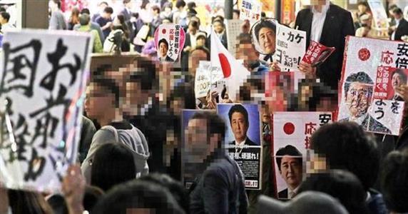 激闘10・22衆院選】首相街頭演説...
