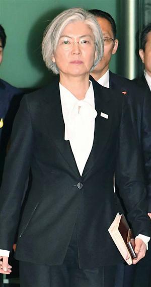 韓国外相に河野氏「塩対応」 夕...