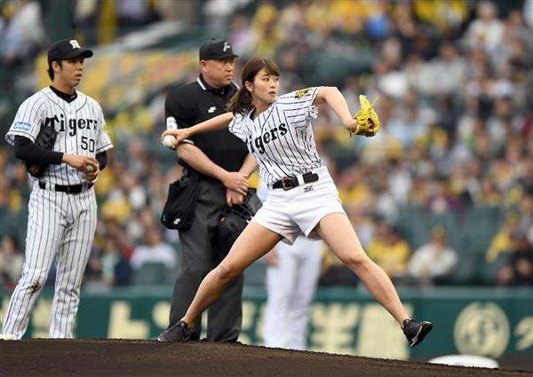 稲村亜美、来年はプロ野球全球団ホームゲームで始球式なるか ...