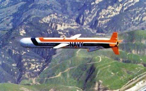 国産化が検討される巡航ミサイル。写真は米軍の「トマホーク」(ロイター)