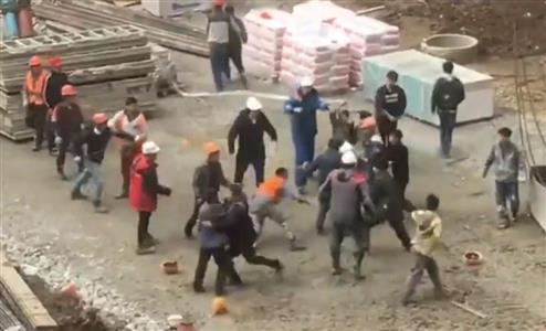 北朝鮮労働者とタジキスタン労働者が乱闘(Vesti.ru)