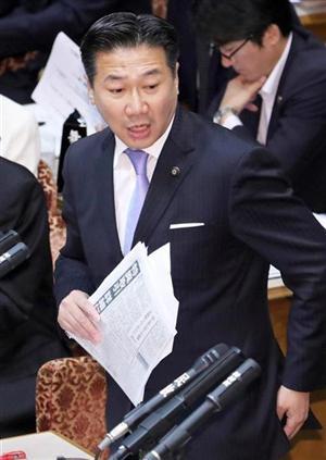 福山氏(写真)が首相秘書官を罵倒したことを、足立氏は許さない