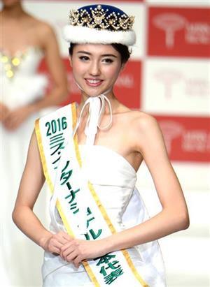 岡田真澄さん娘 ミス・インター日本代表後の進路は女子アナか