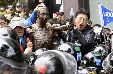 元徴用工訴訟、新日鉄住金への差し押さえ要求…日本側の反撃策は? 松木 ...