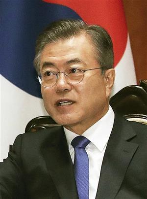 韓国の文大統領(AP)