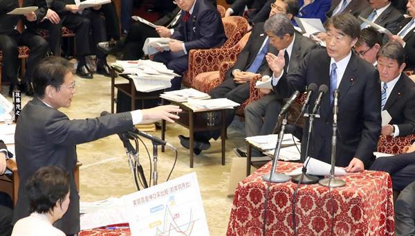 【夕刊フジ】あまりに異様…立憲民主の「韓国スルー」 衆院予算委、長妻氏ら3人も