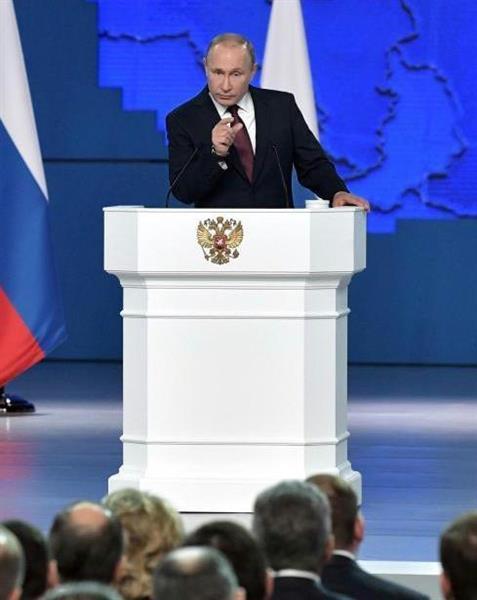 【ロシア】プーチン大統領「ロシアの超音速核ミサイルでアメリカは一瞬にして消滅する」