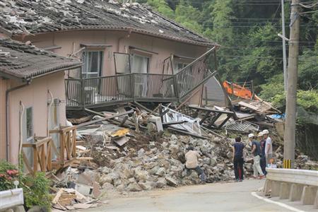 熊本地震では2度目の大きな揺れによって、多くの犠牲者が出た
