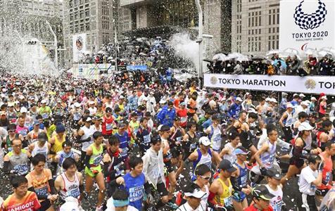 「東京マラソン2019」は盛り上がったが(共同)