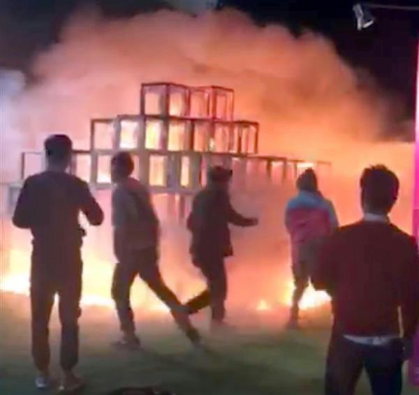 外苑 火災 神宮