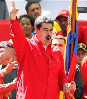 マドゥロ大統領は、ベネズエラを破綻状態に追い込んだ(ロイター)