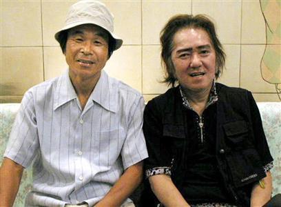 吉本新喜劇の黄金コンビだった寛平(左)と木村さん=