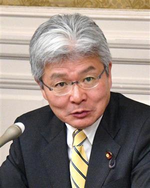 立憲民主党・逢坂誠二政調会長