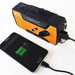 スマホの充電もできる災害用ラジオを期間限定値下げ