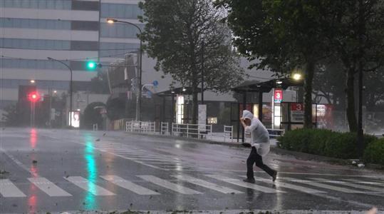台風 15 号 東京
