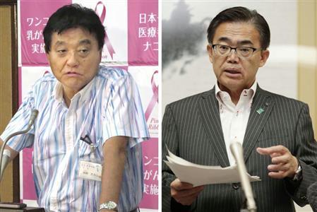 愛知県知事 左翼
