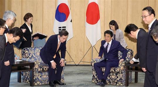 日韓首相、1年ぶり会談 徴用工問題に韓国は解決策示さず - zakzak ...