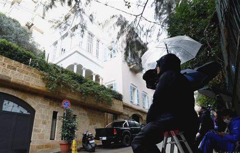 ゴーン被告のレバノン・ベイルートにある自宅=5日(共同)