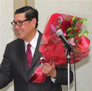 18日の母校・法政大野球部OB会でも殿堂入りを祝福された田淵氏