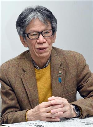 朝日新聞について語る西村氏