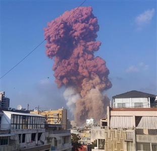 爆発 レバノン