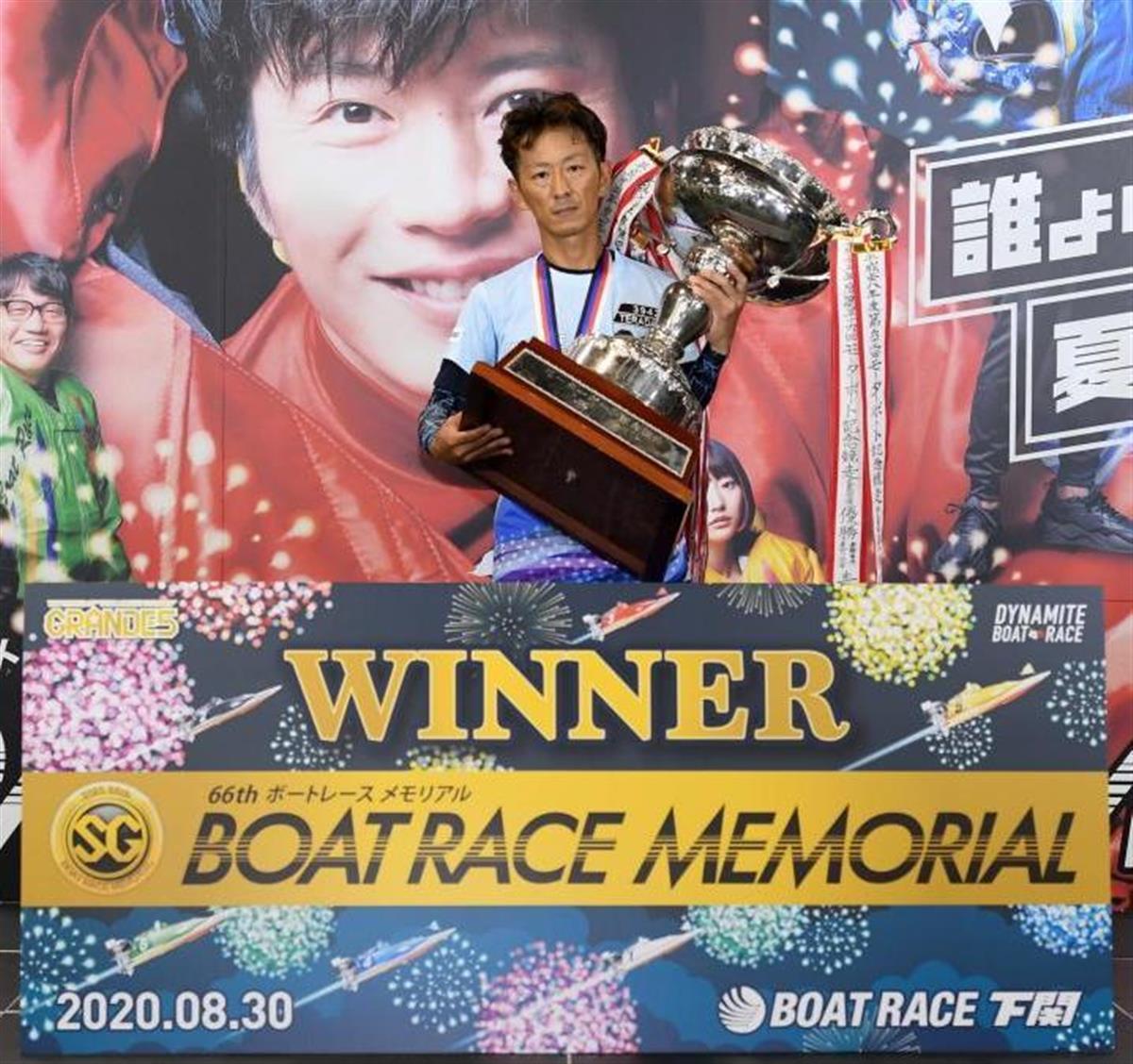 レース 率 得点 ボート 下関