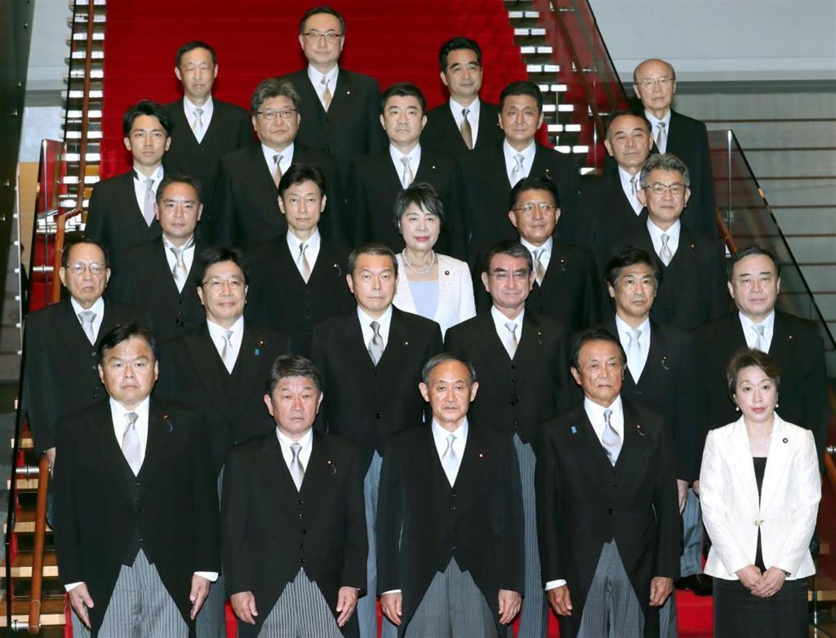 菅内閣は本格始動した=16日、首相官邸