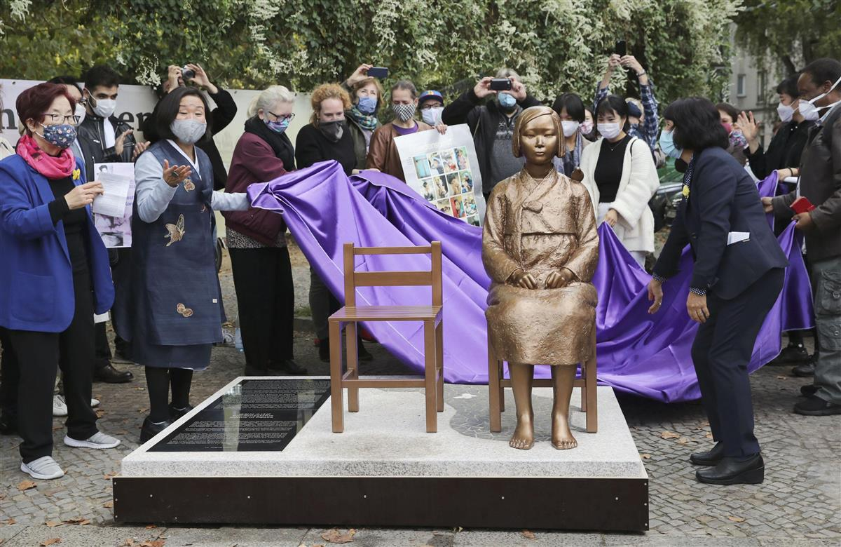 ベルリンの慰安婦像、設置許可取り消し 韓国は茂木外相を批判 - zakzak:夕刊フジ公式サイト