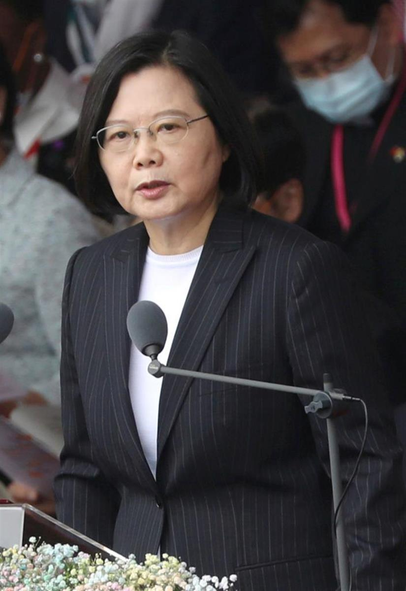中国の暴挙に台湾の蔡英文総統はどう対抗するのか(ロイター)