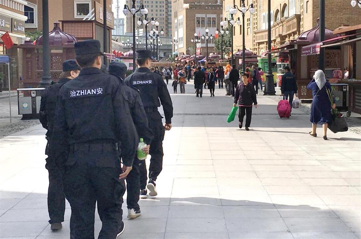 厳重な監視態勢が敷かれている新疆ウイグル自治区
