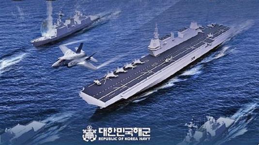 「日本にぜったい勝てない」韓国の空母