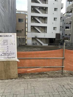 先代井筒部屋の跡地に建設計画。鶴竜の新部屋か=東京都墨田区