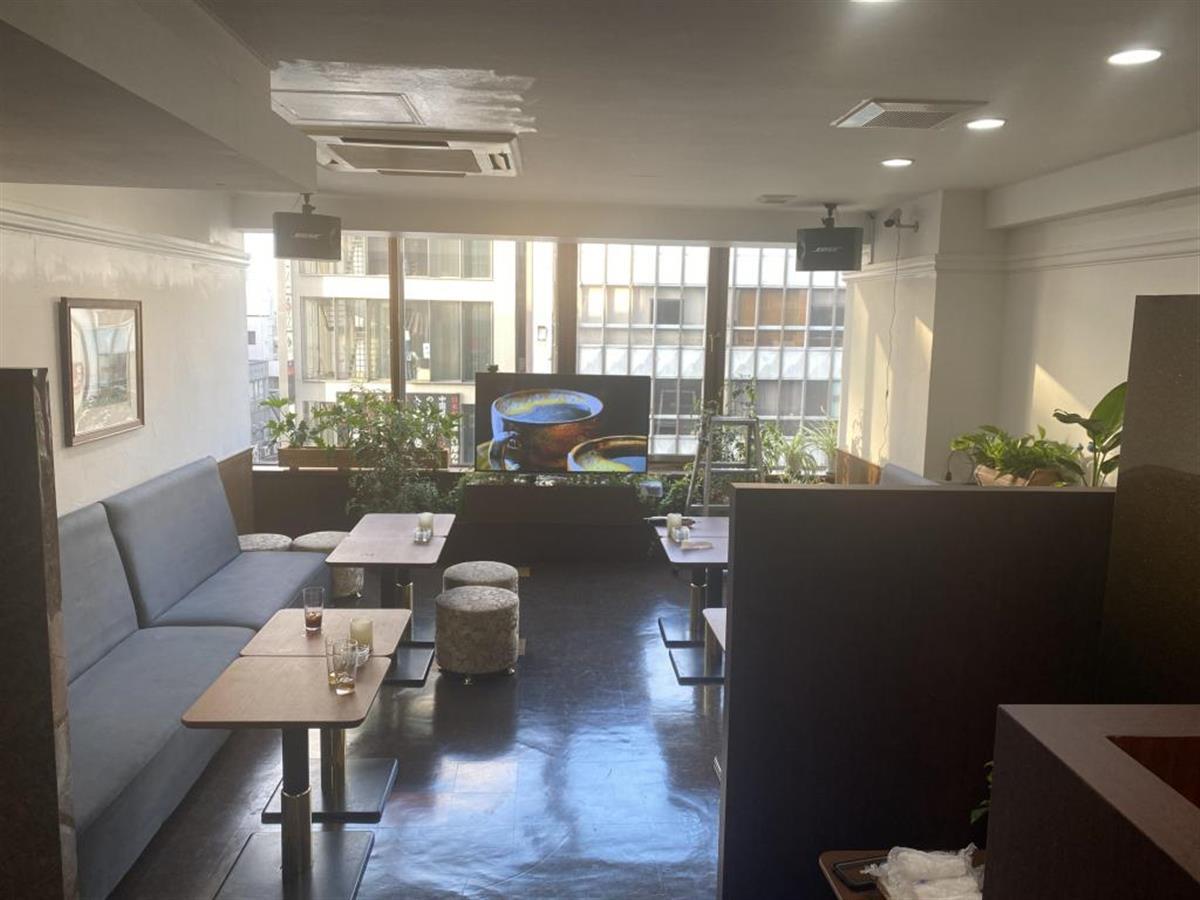 東京・六本木の輪KUMOカフェ