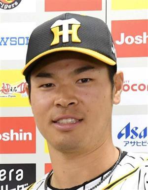阪神の佐藤輝選手(共同)