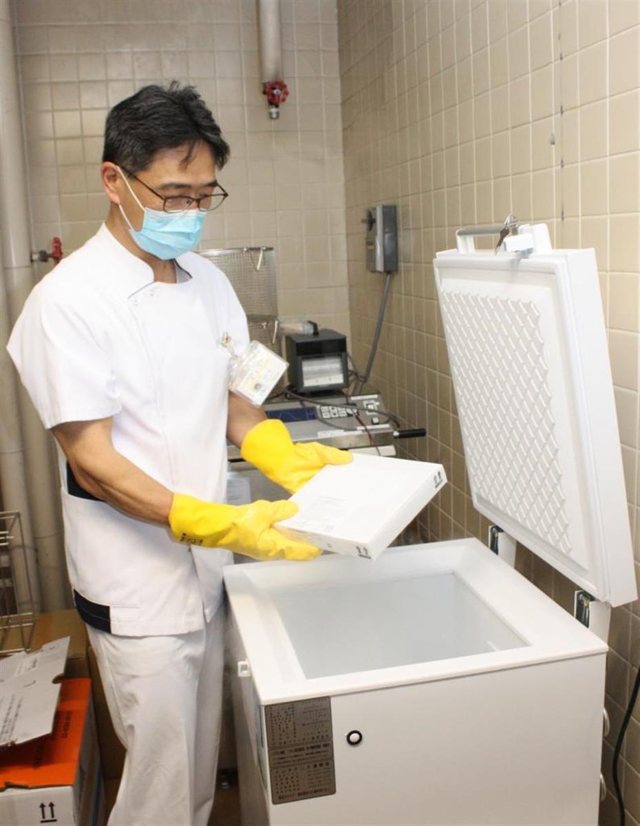 ファイザー製ワクチンは超低温冷凍庫に保管されている