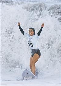 パリで「金」へ…夢の旅路 女子サーフィン「銅」都筑有夢路