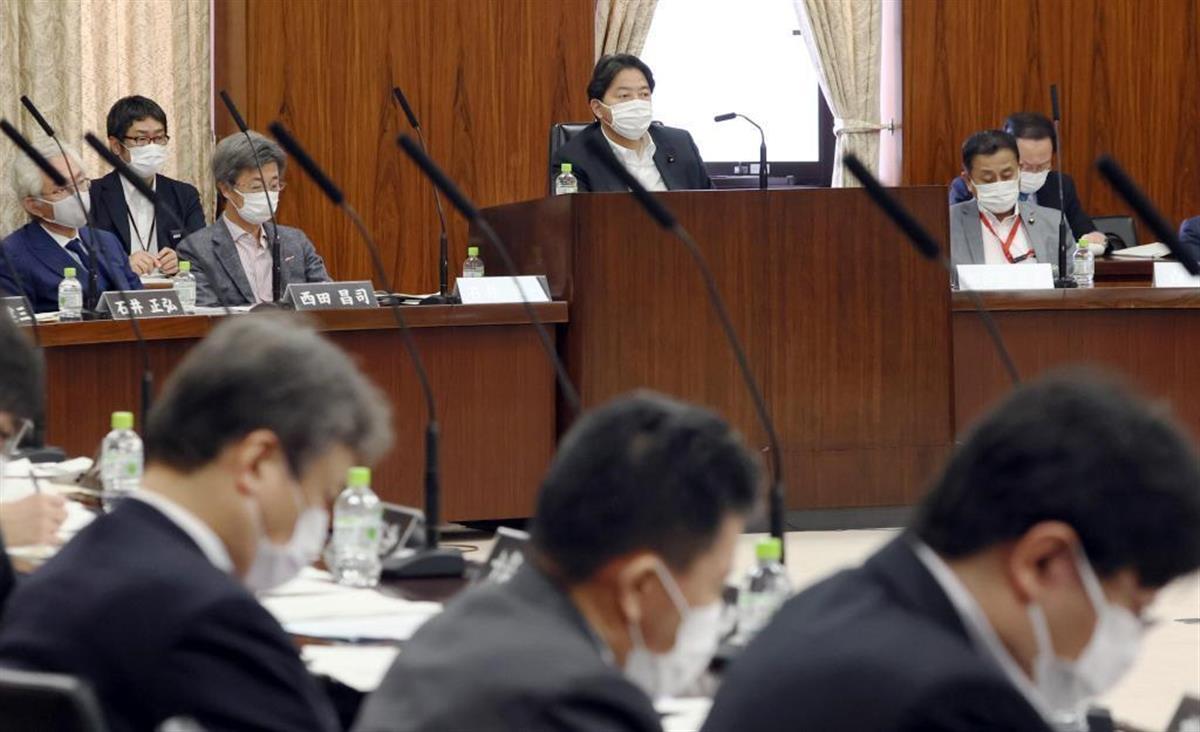 6月に開かれた参院憲法審査会
