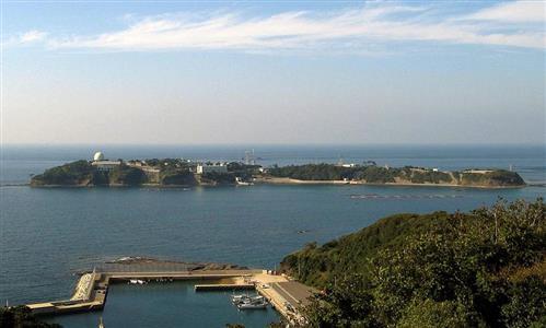長崎県・対馬北端に位置する航空自衛隊海栗島(うにしま)分屯基地