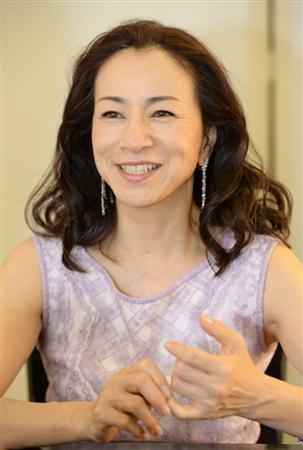 インタビューの原田美枝子